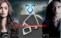 Freeshipping wholesale 20PC a lot The Mortal Instruments: City of Bones Angelic Power Necklace CTYSO01