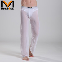 Freeshipping  underwear wholesale (Meng Wei) , breathable men's home pants casual pants sexy gauze