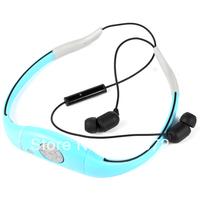 Waterproof  Bluetooth Headset  Wireless IPX8 Sports Headphone Earphones&Headphones Handsfree Microphone 3M