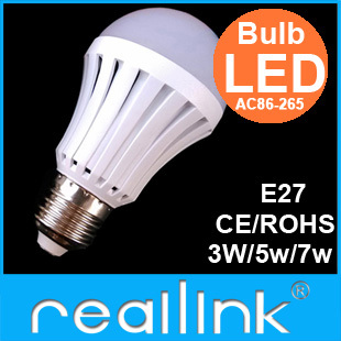 10PCS/lot led bulb lamp High brightness E27 5W 7W 9W 2835SMD Cold white/warm white AC220V 230V 240V Free shipping(China (Mainland))