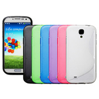 Generic S-Line Wave Gel TPU Soft Case For Samsung Galaxy S IV S4 i9500