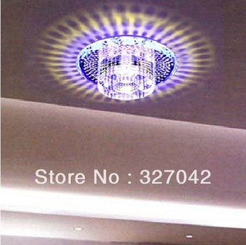 LED Color Light Ceiling 3Watt Surface Mounted Decorative LED Lamp