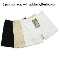 tj023 Free Shopping 2Pcs 3color Prevent exposed plus size women bamboo charcoal fiber shorts pants
