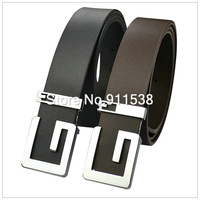#Q110 Free shipping 1 piece Cowhide strap male strap white fashion waist of trousers belt male genuine leather Belt