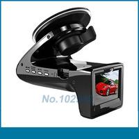 Safe driving Speed Radar Detector HD Car DVR video camcorder SH818 ebog black box camera (Russian Version) free shipping