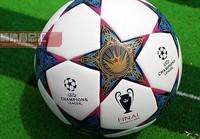 free shipping free shipping 2013 champions league ball seamless PU granules slip-resistant 5 football zuqiu 4