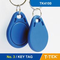 RFID TK4100 for access control, RFID Key Tag, RFID Key Fob, Free Shipping