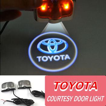 Высокое качество двери автомобиля свет с логотипом украшения / любезно дверь свет для TOYOTA Highlander / Reiz / RAV4 / Camry
