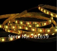 20pcs 5m/roll 5050 300/60 led strip single color red/blue/yellow/white/green 5050 non-Waterproof IP20  flexible Light Wholesale