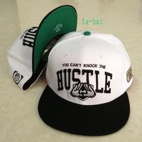 2013 new brand 1 pcs adjustable korean style baseball snapback hats and caps for men sports hip pop letter cap white/black color
