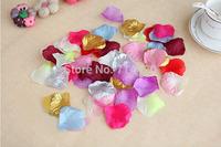 2000 pcs/lot  Artificial Florwes silk Rose Flowers petals simulation flower petals For DIY wedding party supplies Very Beautiful
