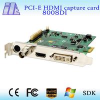 SDI+HDMI+DVI+YPbPr Capture Card support 1080p @30fps best seller