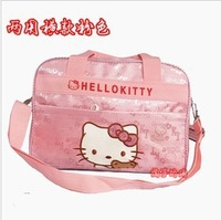 Hot Free Shipping! Hello Kitty Backpack Children School Bag Children Bag Messenger Bag Retail