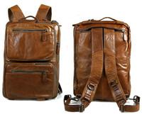 Vintage Cowhide Business Handbag Genuine Leather Laptop Big Messenger Bag Briefcase Multifunctional Handbag For Men