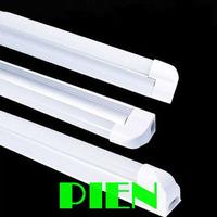 T5 led tube bulb Fluorescent 600mm 900mm 1200mm 1500mm 7W 10W 12W 16W 3 Pin LED tubos110V-240V Profile Holder by DHL 10pcs/lot