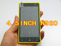 HOT windows menu N920 android SC6820 1.0GHz 4.5 inch screen Smartphone Polish line whatsapp facebook skype youtube free shipping