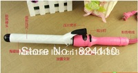 Free shipping  secure set foam rods ceramic curling irons pear kinkiness hair roller tool