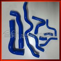 9PCS Original Logo Silicone Coolant Hose Kit For BMW E36 M3 325I 316i European 92-99 8 Colors