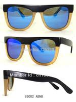 New Arriving fashion style +Free shipping good quality wood sunglasses polarized lens eyewear z6002