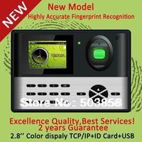 Color Display Fingerprint Time Recording Access Controller