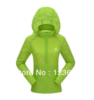 Great Quallity Women's suncreen clothes good looking Fast dry Outdoor Dress quicky dry Outdoor Hiking Jacket for Girls