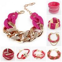 Bracelets bangles Gold Alloy  Bracelet for women  Chunky Chain Bracelets & Bangles