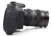 New Universal PU Leather Camera Hand Grip Hand Wrist Strap Belt Grip for All Canon Nikon Pentax Sony SLR/DSLR