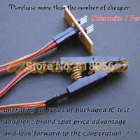 150mil 200mil SOIC8 SOP8 Test Clip For EEPROM / 93CXX / 25CXX / 24CXX in-circuit programming