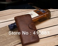 Free Shipping +hot fashion Brand wallet / Long cowhide leather men's wallet / purses /   L067
