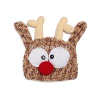 Christmas deer Toddle Crochet Hat Baby Handmade Crochet Hat Handmade for baby