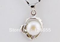 2013 popular natural freshwater pearl  pendant Korean female models  Free shipping