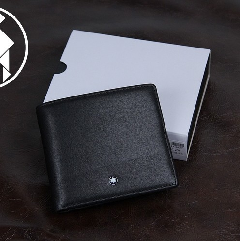 Drop shipping , Men's Classic Black Wallet & Man luxurious Best Sell- Genuine Leather purse,1pcs/lot Man holiday gift(China (Mainland))