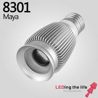 8301 Maya E27 LED focus spotlight for open shelving lighting kitchen from LEDing the life free shipping