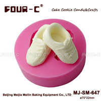 Silicone fondant mould,newest cupcake decorating mould