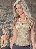 Wholesale&Retail Fashion Cheap Cute Sexy Shapewear Bodysuit Corsets Plus Size Top Royal Corset Bustier Vest