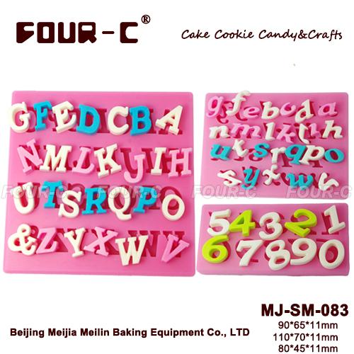Silicone fondant alphabet mold,cake decorating mold,liquid silicone mold(China (Mainland))