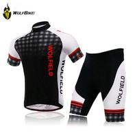 WOLFBIKE Bicycle Bike Cycling Jersey Cycle Clothing Outdoor Sportswear Shorts Shirts Tops Pants Tights Set Size M L XL XXL XXXL