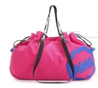 Fashion sports shoulder bag women laptop bags large capacity canvas bag
