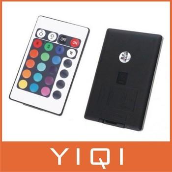 Free Shipping 5pcs/lot 12V 24 Keys IR Remote Controller for SMD 3528 5050 RGB LED Strip Lights