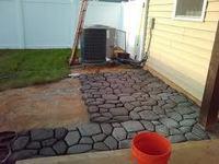 DIY Garden Tools-paver mold for garden path