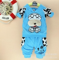 2013 autumn new cute McDull dog suit men and women cotton children's clothing wholesale children