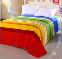bed sheets double 100% cotton separate 100% cotton coverlet thickening bedding 160x230cm, home&garden