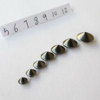 100pcs Gun black mushroom nail nest nail diy rivet 0.5cm-1 . 2cm