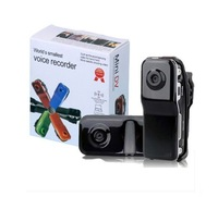 Free Shipping !!!! 2GB/4GB/8GB DVR Sports Video Camera MD80 Hot Selling Mini DVR Camera & Mini DV