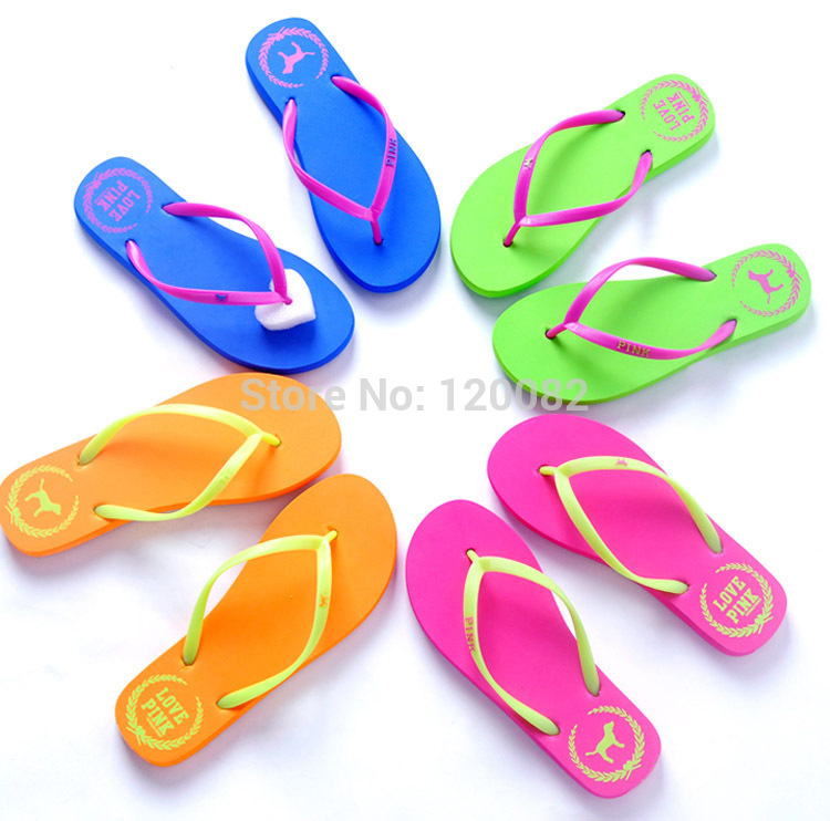 2014 NEW FASHION brand UNISEX flip flops Comfortable Summer Beach platform slippers women casual sandals free shipping(China (Mainland))
