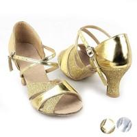 2013 New Fashion Women's Sexy Dance Shoes For Latin Ballroom Salsa Tango Glitter Shoes Drop Shipping 16859