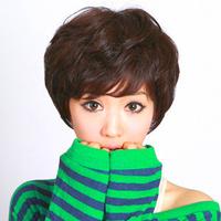 Drop Shipping Formosa Quinquagenarian Wifing women's Roll Jiafa Stubbiness Fluffy Wig, Women's Hair, Short Hair