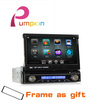 7 Inch1 Din Car Head Unit GPS Receiver DVD Car MP3 Player Ipod Bluetooth FM /AM/USB/SD With remote control+1 year warranty