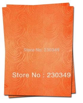 Free shipping African headtie,Head Gear, Sego Gele&Ipele,Head Tie & Wrapper, 2pcs/set.Item No. HT0361 ORANGE
