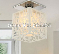 Free shipping Modern acrylic ceiling lamp E27 light Hallway lighting fixture